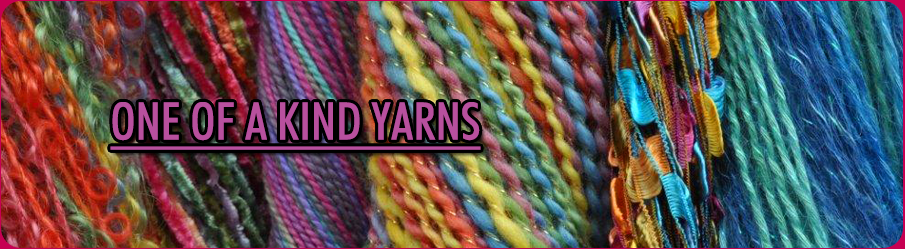 One of a kind yarns
