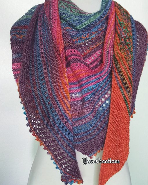 Shawl colourful 1