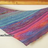 Shawl colourful 2